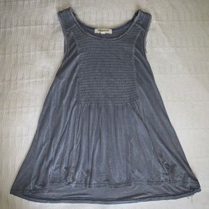 blue living doll tank size small